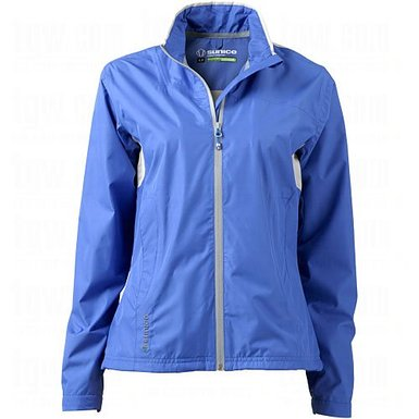 Womens Sunice Meringa Waterproof Textured Golf Jackets