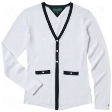 Tommy Hilfiger Womens Ania Cardigan Sweaters