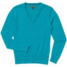 Tommy Hilfiger Ladies Ingrid V Neck Sweaters
