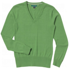 Tommy Hilfiger Womens Ingrid V Neck Sweaters