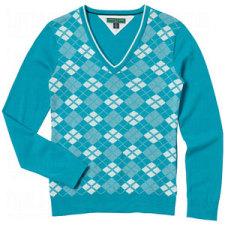 Tommy Hilfiger Ladies Lydia Argyle Sweaters