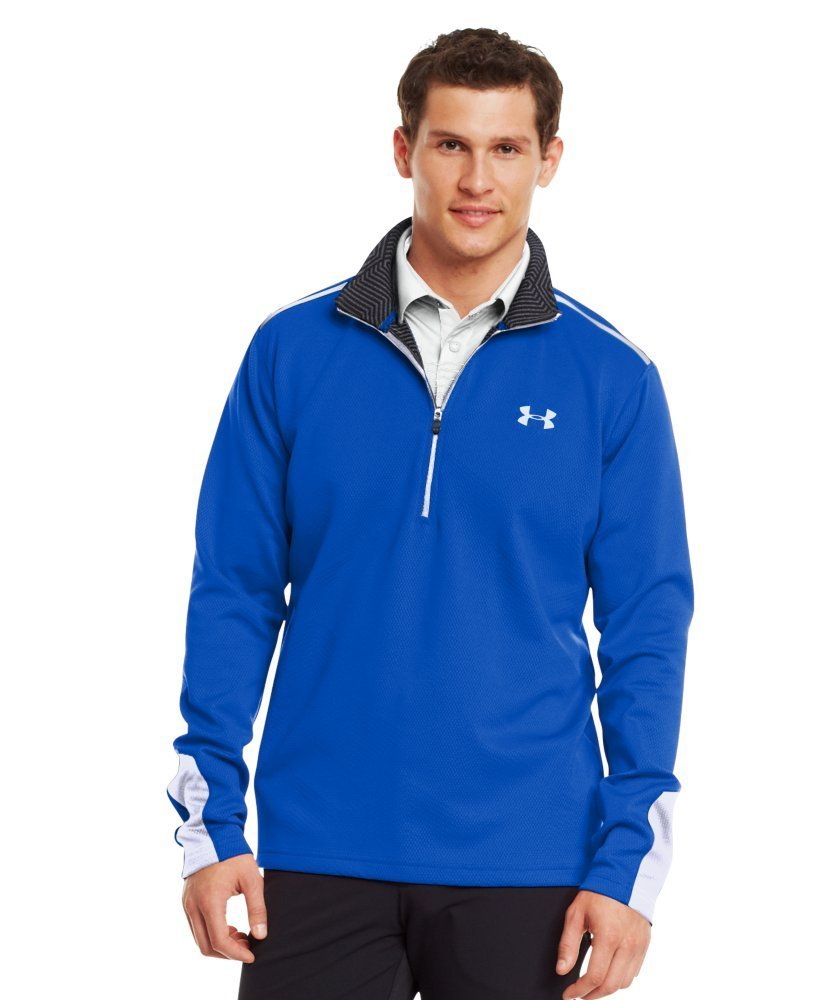 Armour Mens ColdGear Infrared Thermo Golf Pullovers
