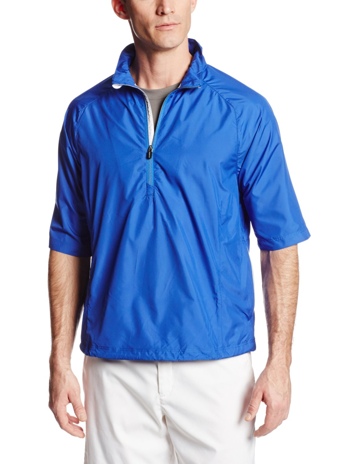 Mens Zero Restriction Cloud Quarter Zip Golf Jackets