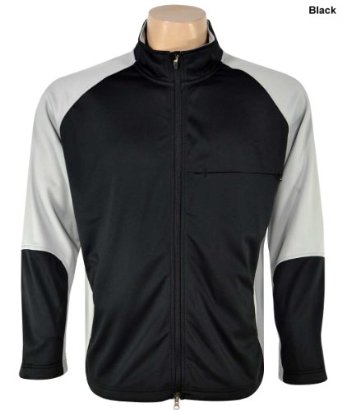 Mens Zero Restriction Golf Airflow Colorblock Jackets