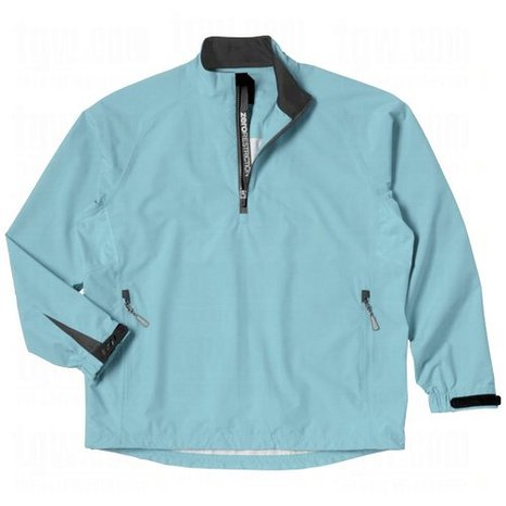 Mens Zero Restriction Hybrid Packable Golf Rain Jackets