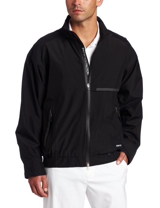 Mens Zero Restriction Tour Lite Li Golf Rain Jackets