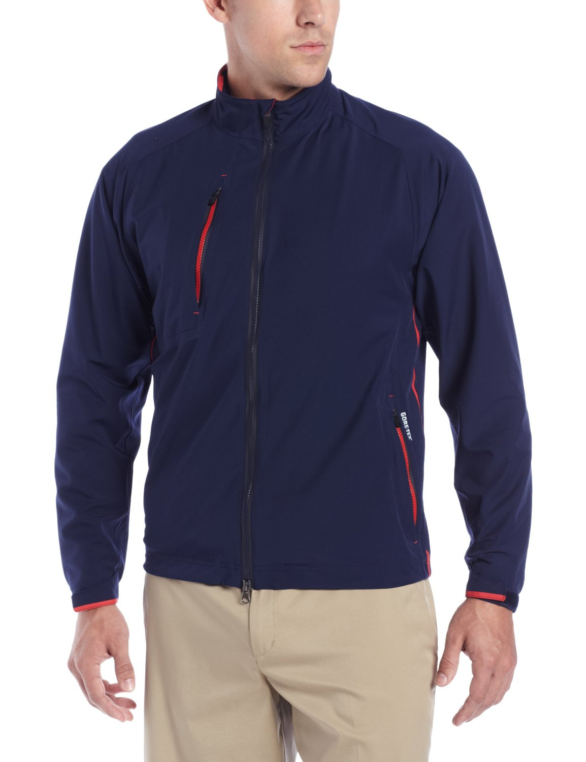 Mens Zero Restriction Waterproof Gore-Tex Stealth Golf Jackets