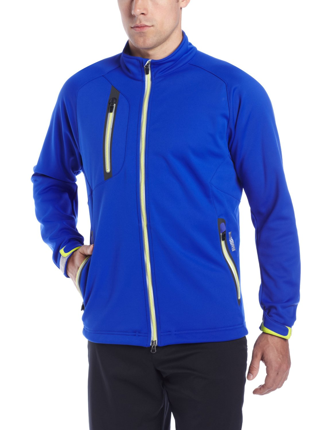 Mens Zero Restriction Windstopper Knollwood Golf Jackets