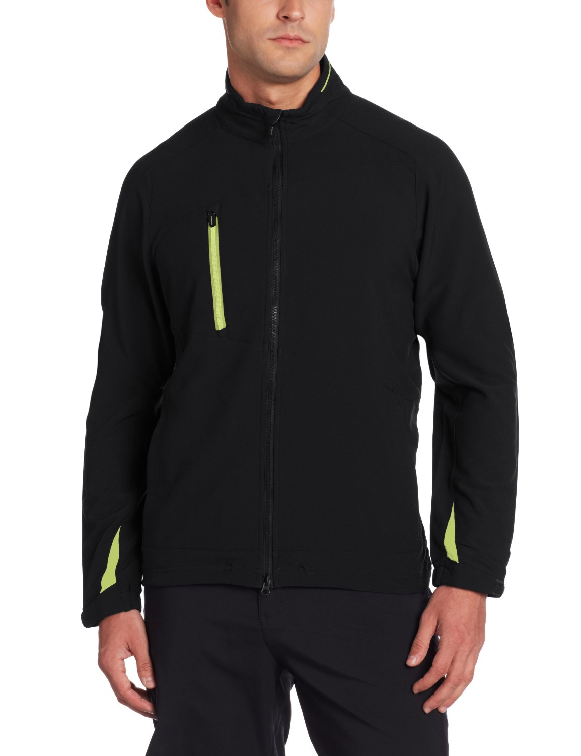 Mens Zero Restriction Zip Front Golf Jackets