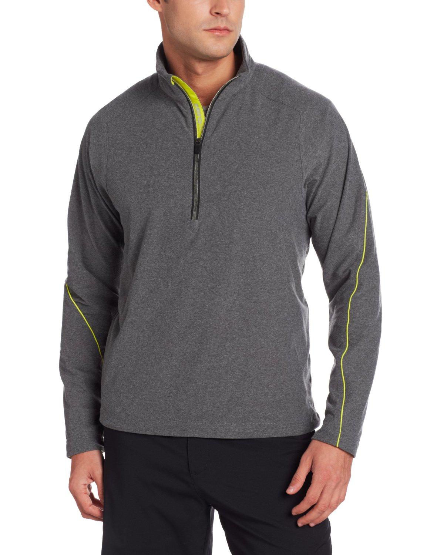 Mens Zero Restriction Dash Golf Pullovers