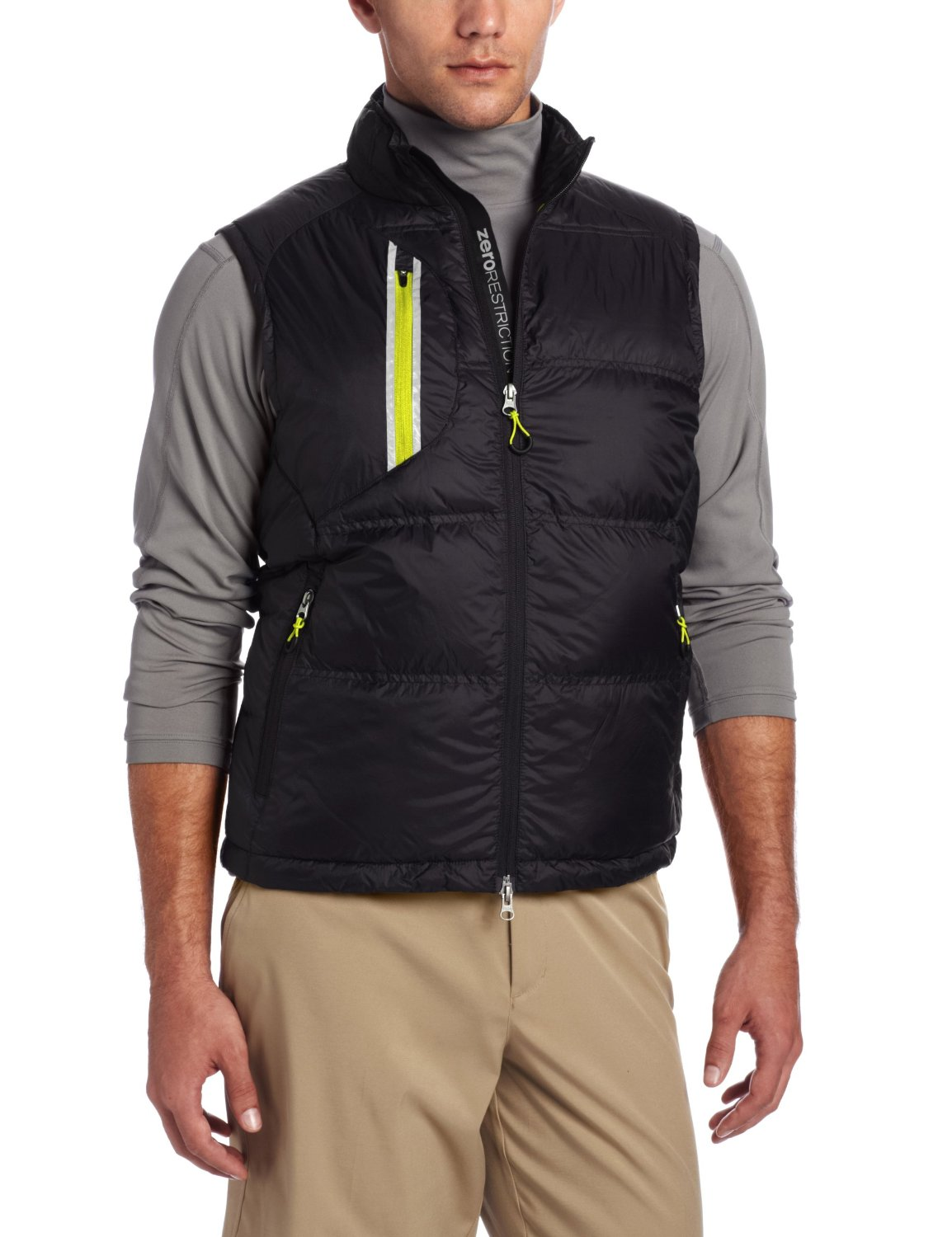 Mens Zero Restriction Down Golf Vests