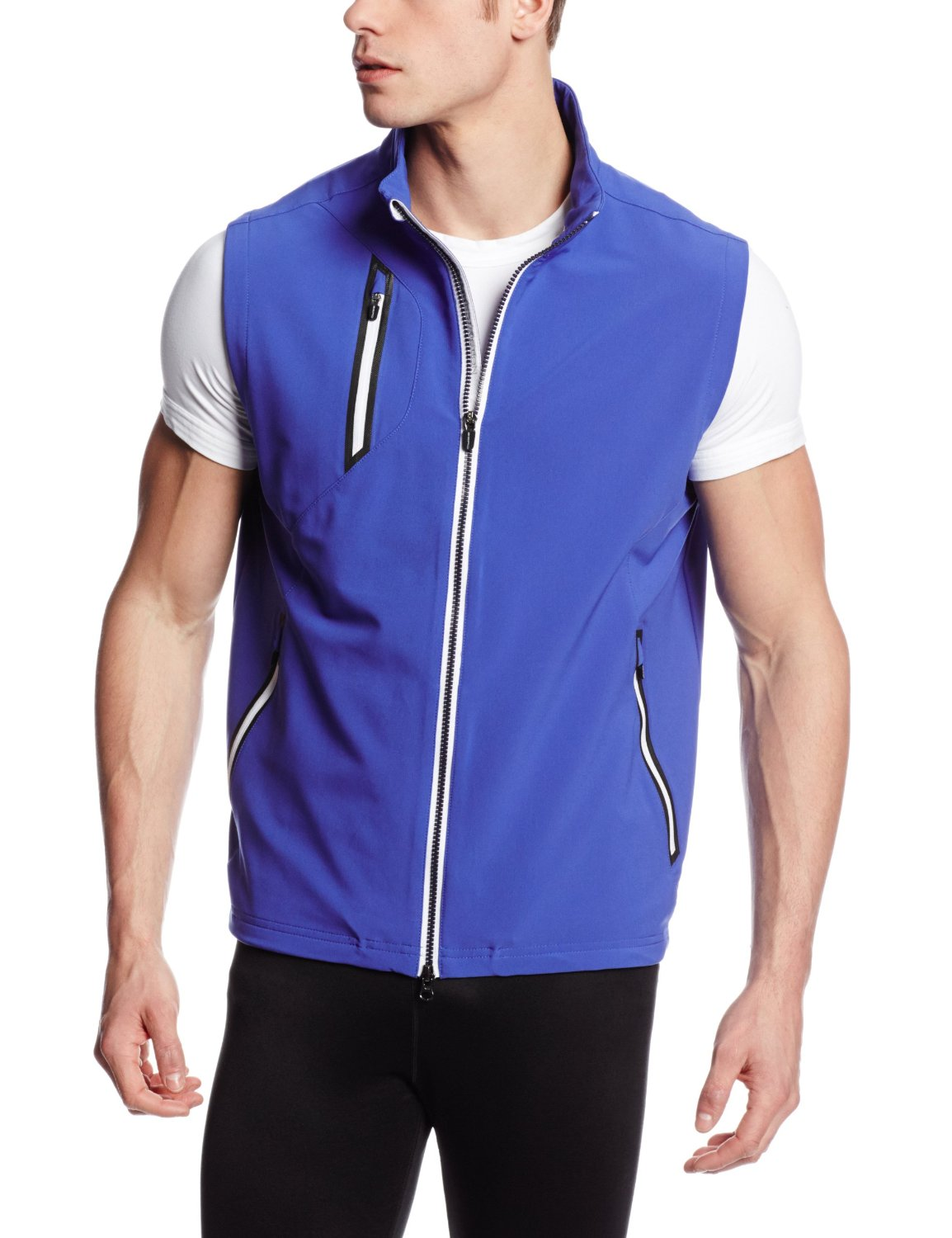 Mens Zero Restriction Z550 Zip Front Golf Vests