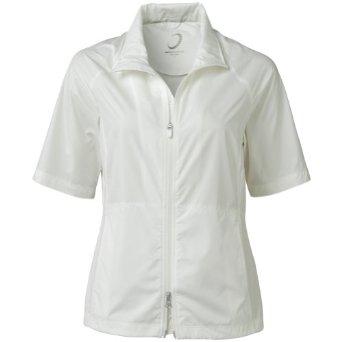 Womens Zero Restriction Kelly Short Sleeve Golf Wind Jackets
