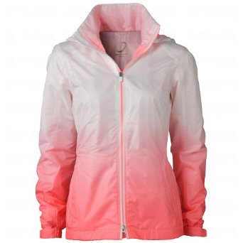 Womens Zero Restriction Riley Ombre Golf Wind Jackets