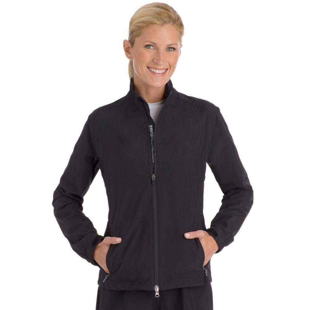 Womens Zero Restriction Shirred Laurel Golf Jackets