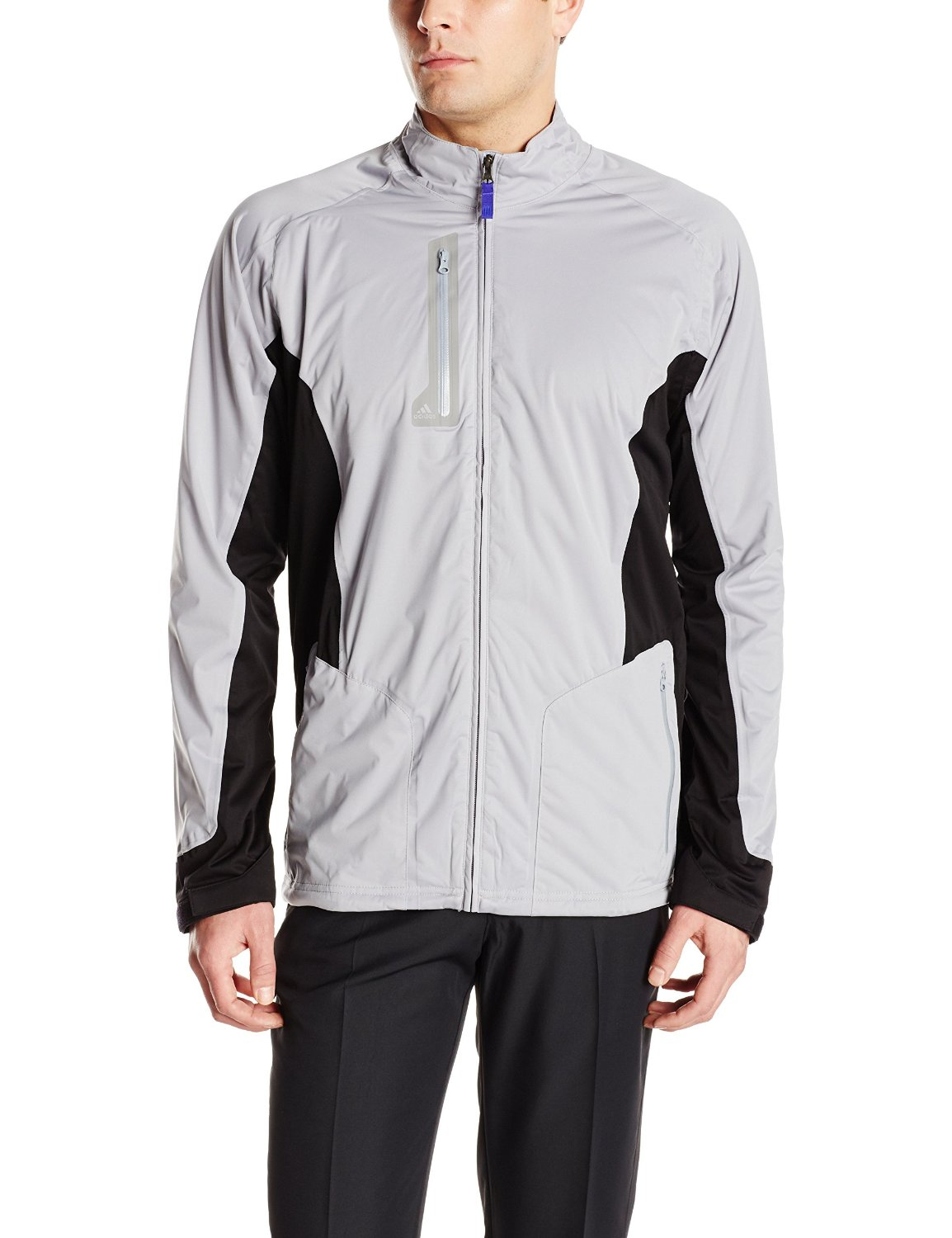 Adidas mens climaproof advance golf rain jackets for Adidas golf rain shirt