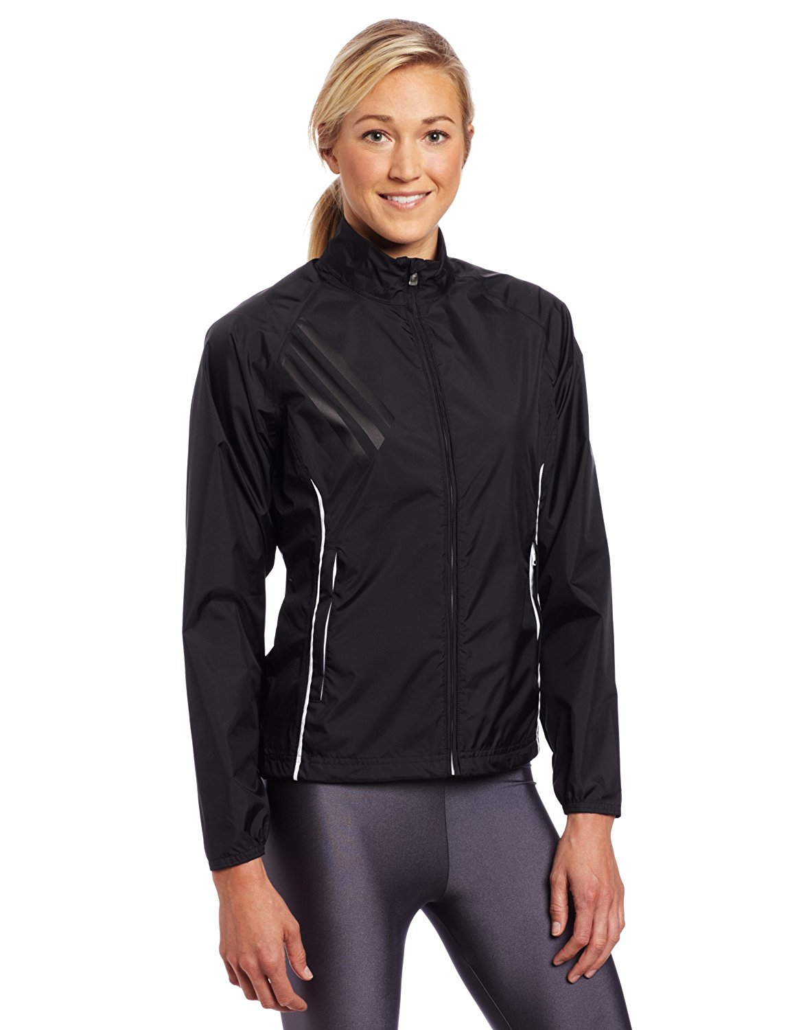 Adidas womens climaproof provisional golf rain jackets for Adidas golf rain shirt