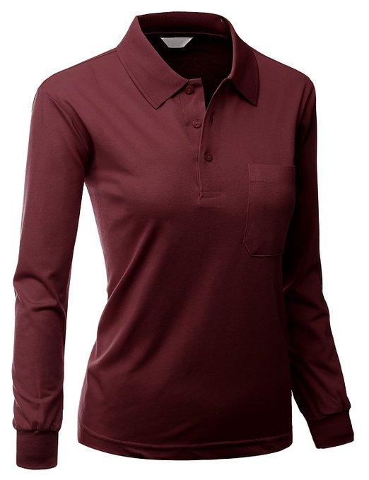 Xpril Womens Pique 180-200 Tc Dri Fit Collar Short Sleeve Polo T-Shirt