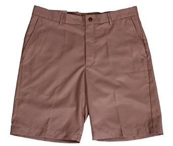 Mens Greg Norman Performance Luxury Style Flat Front Golf Shorts