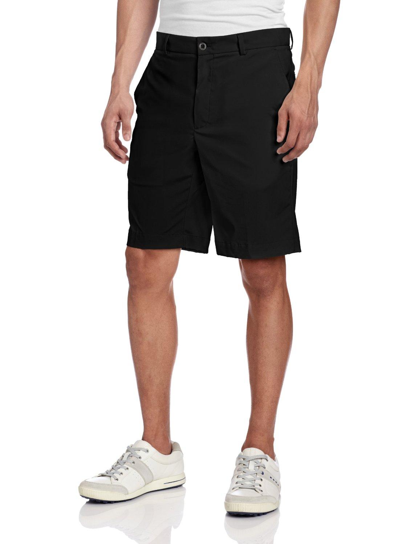 Greg Norman Mens Tech Flat Front Golf Shorts