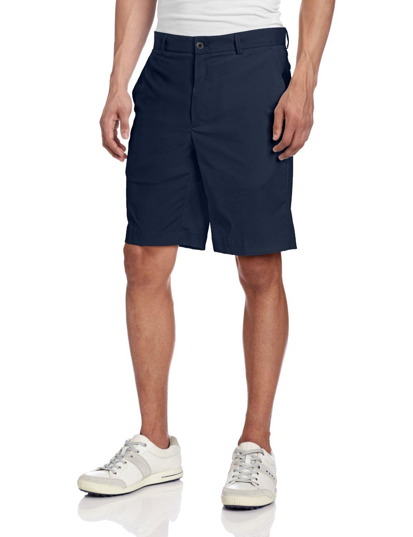 Mens Tech Flat Front Golf Shorts