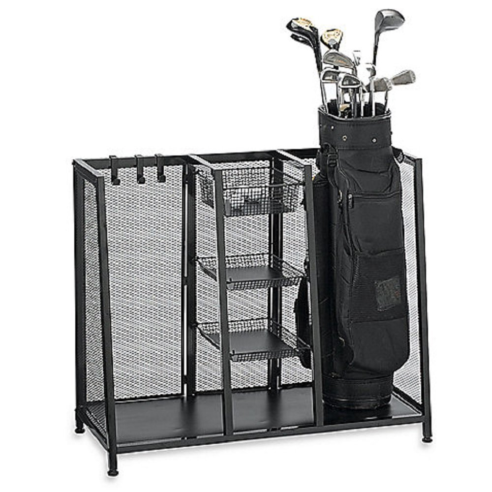 Golf Bag Organizers, Storage Units, Racks, Caddies