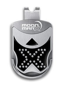 MoonMarx Magnetic Clip Golf Ball Marker and Putt Aligner