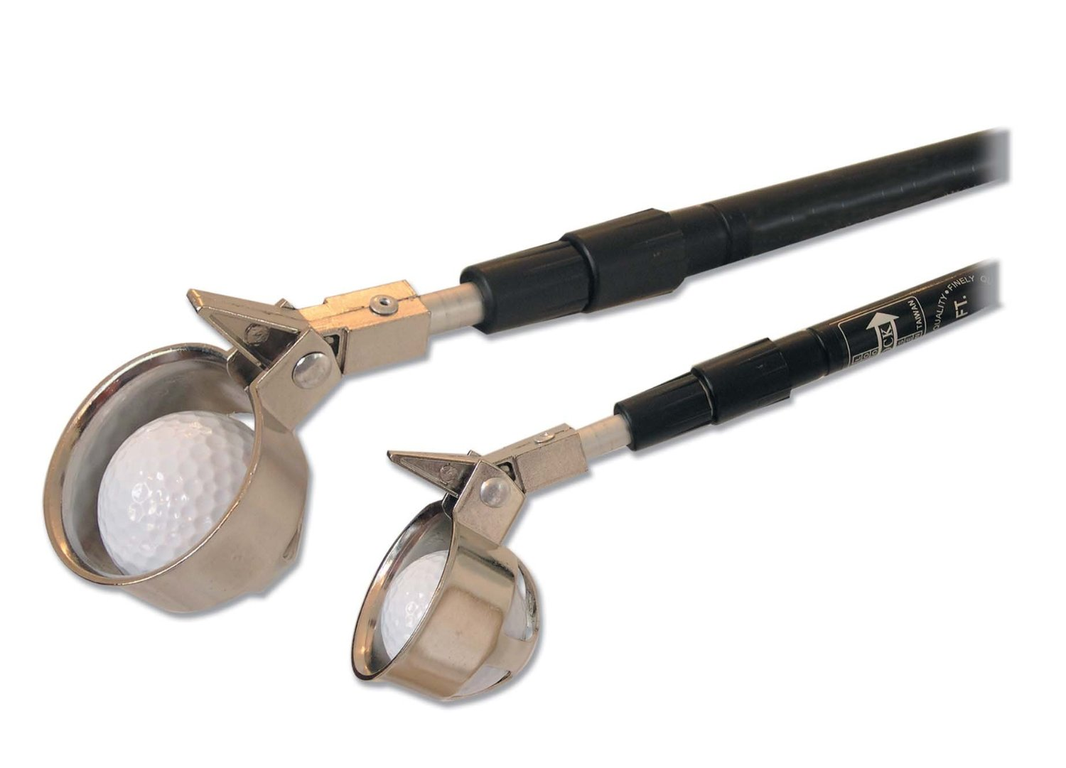 JP Lann 15- Foot Golf Ball Retriever with Hinge Cup