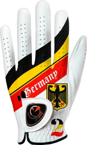 Easyglove Mens Flag Germany Golf Gloves
