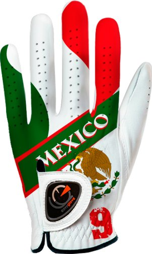 Easyglove Mens Flag Mexico Golf Gloves