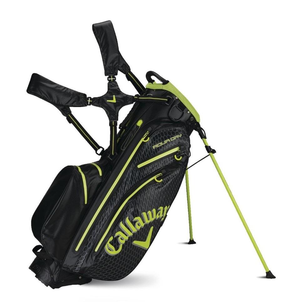 Mens Callaway 2015 Aqua Dry Golf Stand Bags