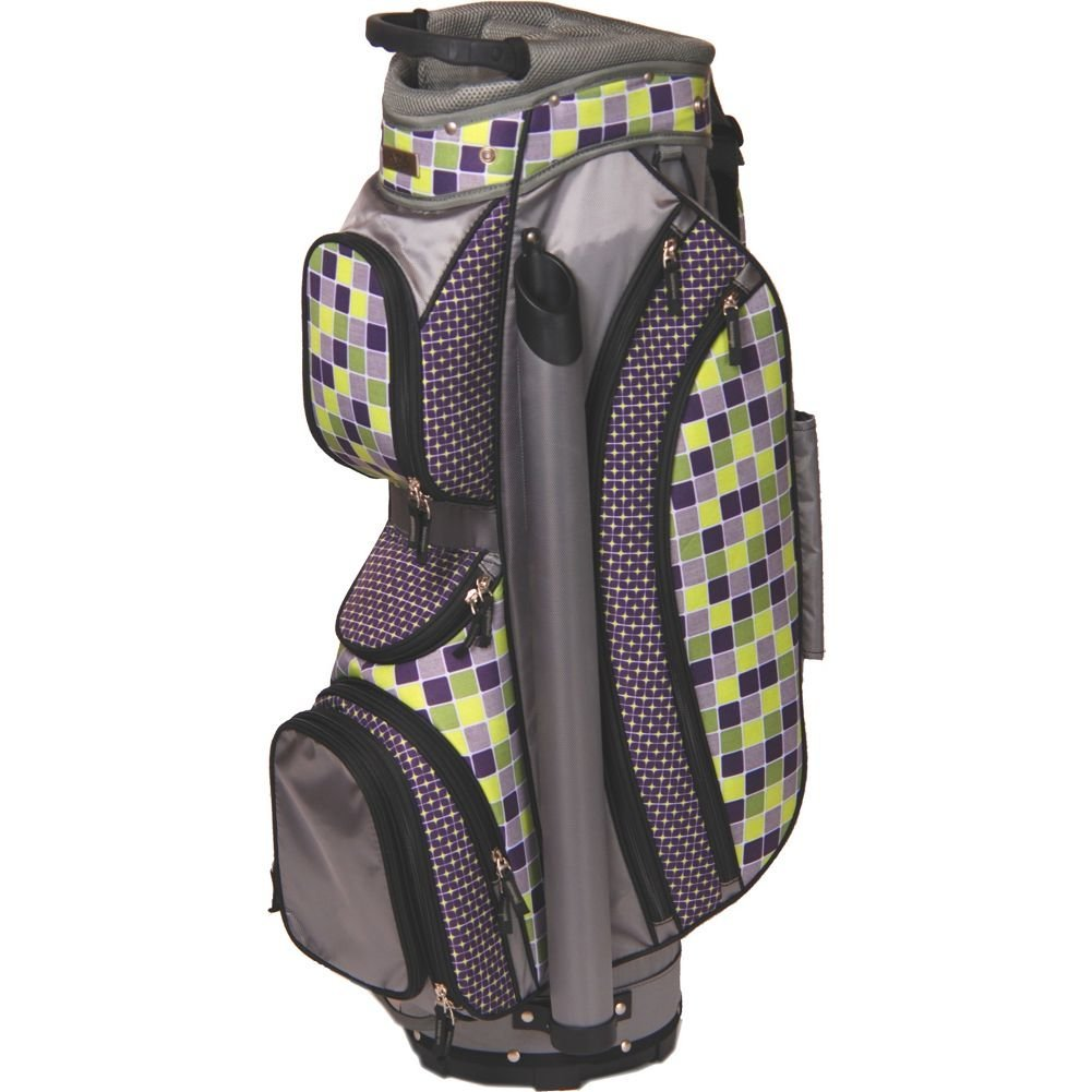 Womens Glove It Lime Tile Golf Cart Bags