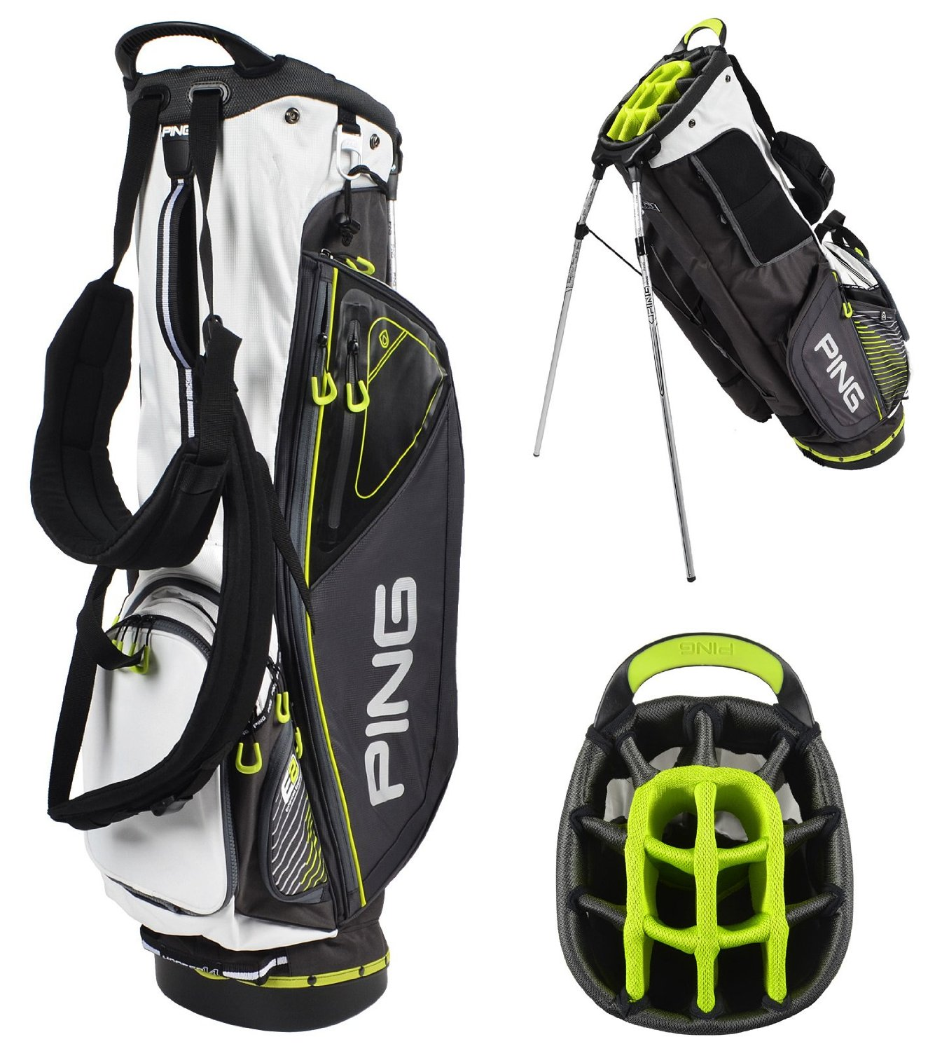 Mens Ping 2015 Hoofer 14 Golf Stand Bags