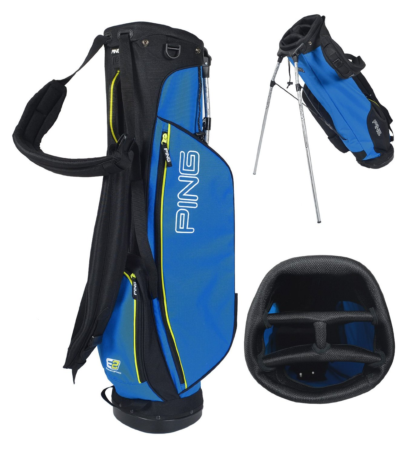 Mens Ping 2015 L8 Golf Stand Carry Bags