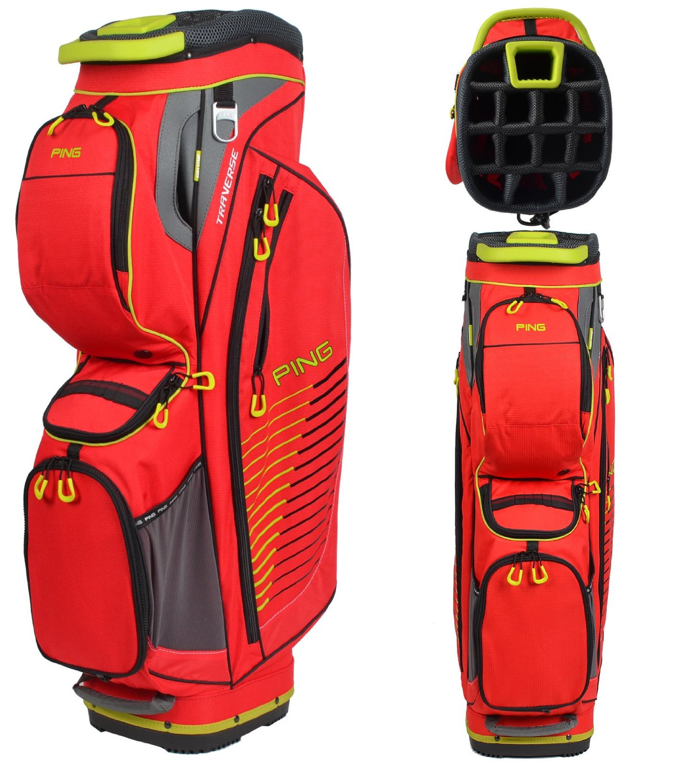 Mens Ping 2015 Traverse Golf Cart Bags