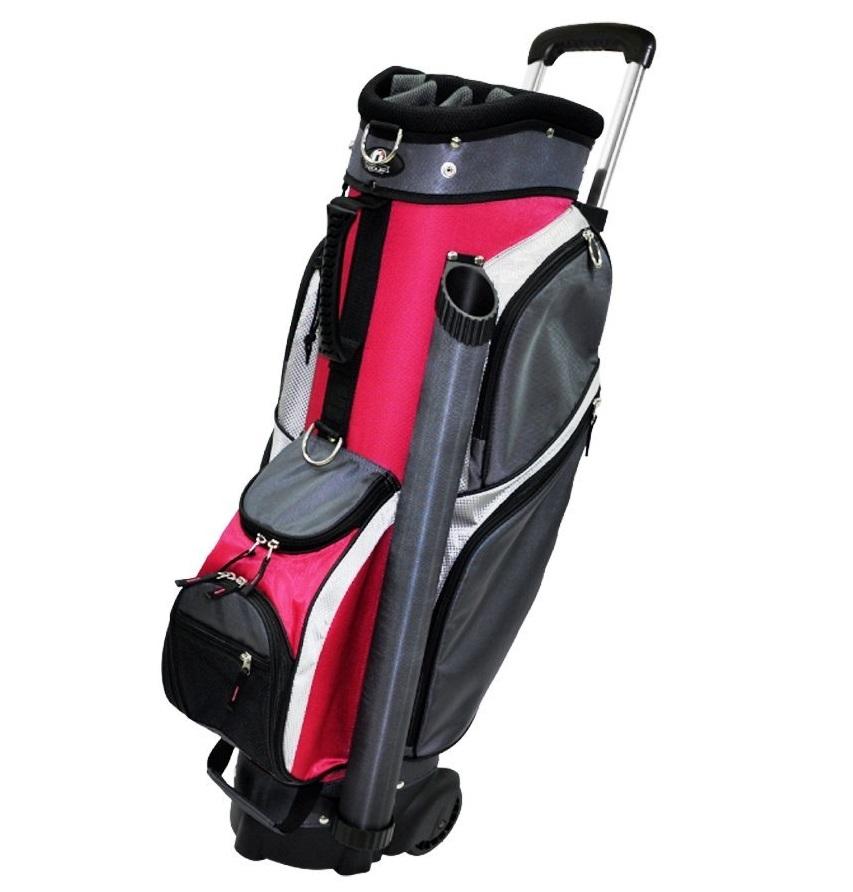 Mens RJ Sports Sports Wheeled Transport Golf Cart Bags