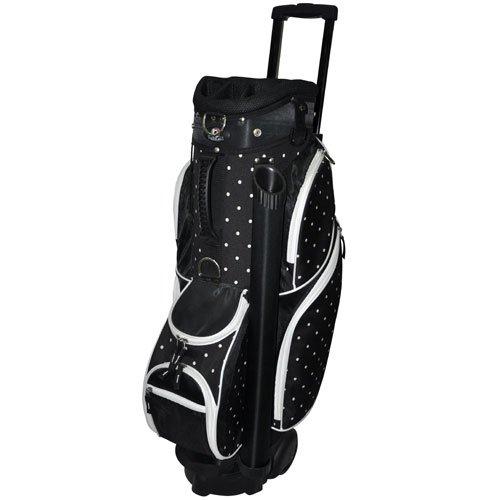Rj Sports Mens Sports Wheeled Transport Golf Cart Bags