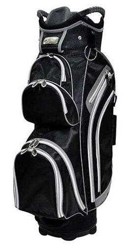 Ladies RJ Sports Kingston Black Golf Cart Bags