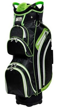 Ladies RJ Sports Kingston Lime Green Golf Cart Bags
