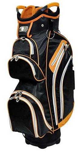 Ladies RJ Sports Kingston Orange Golf Cart Bags