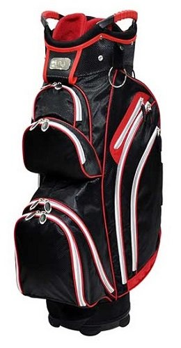 Ladies RJ Sports Kingston Red Golf Cart Bags