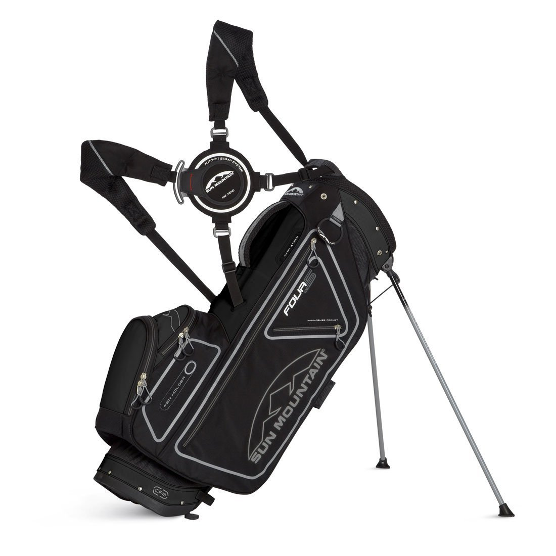 Mens Sun Mountain 2014 Four 5 Golf Stand Carry Bags