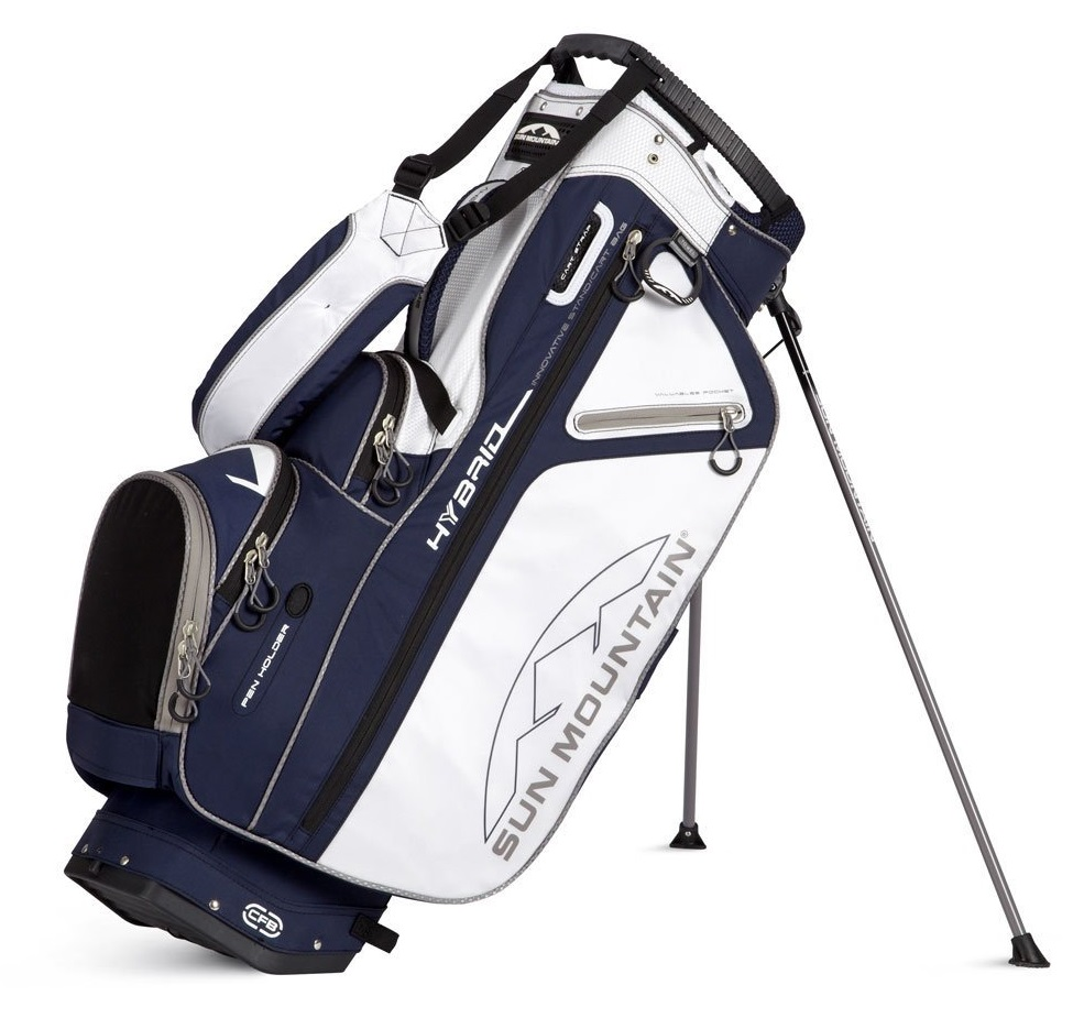 Mens Sun Mountain 2014 Golf Hybrid Carry Cart Bags