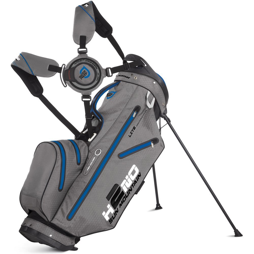 Mens Sun Mountain H2NO Lite Golf Stand Bags