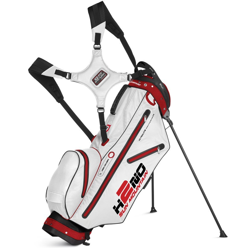 Mens Sun Mountain H2NO Ultra-Lite Waterproof Golf Stand Bags
