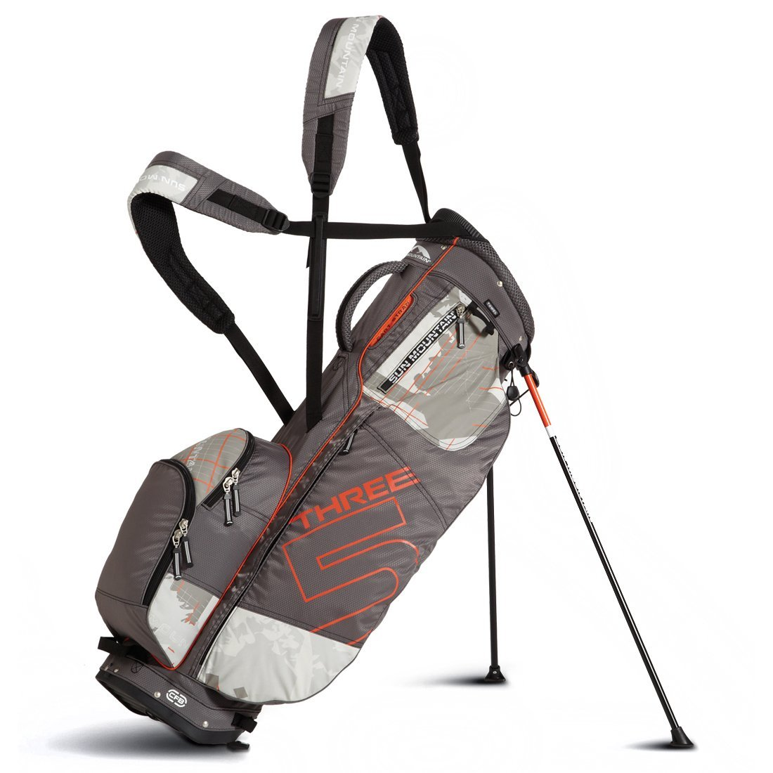 Mens Sun Mountain Superlight Three 5 Golf Stand Bags