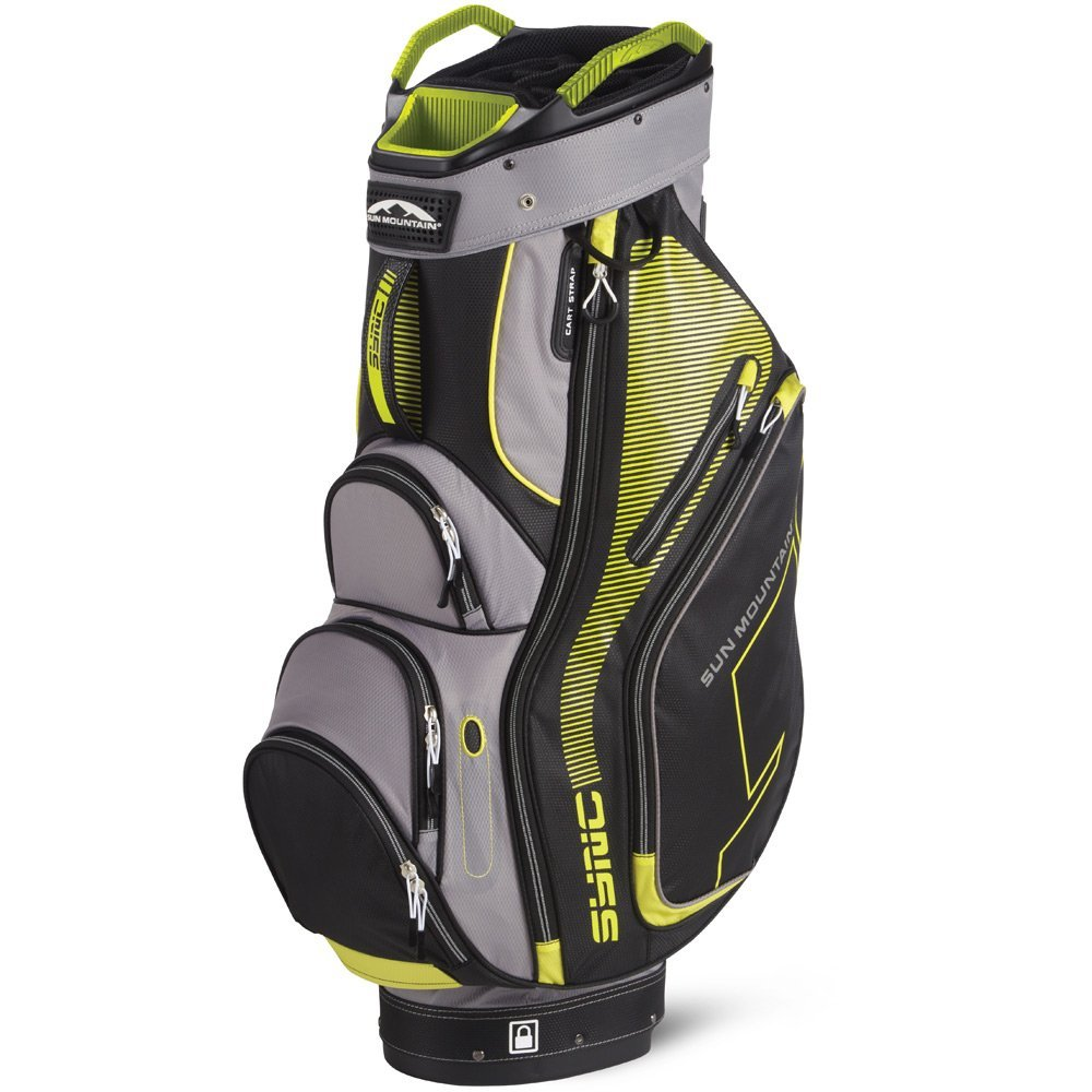 Mens Sun Mountain Sync Golf Cart Bags