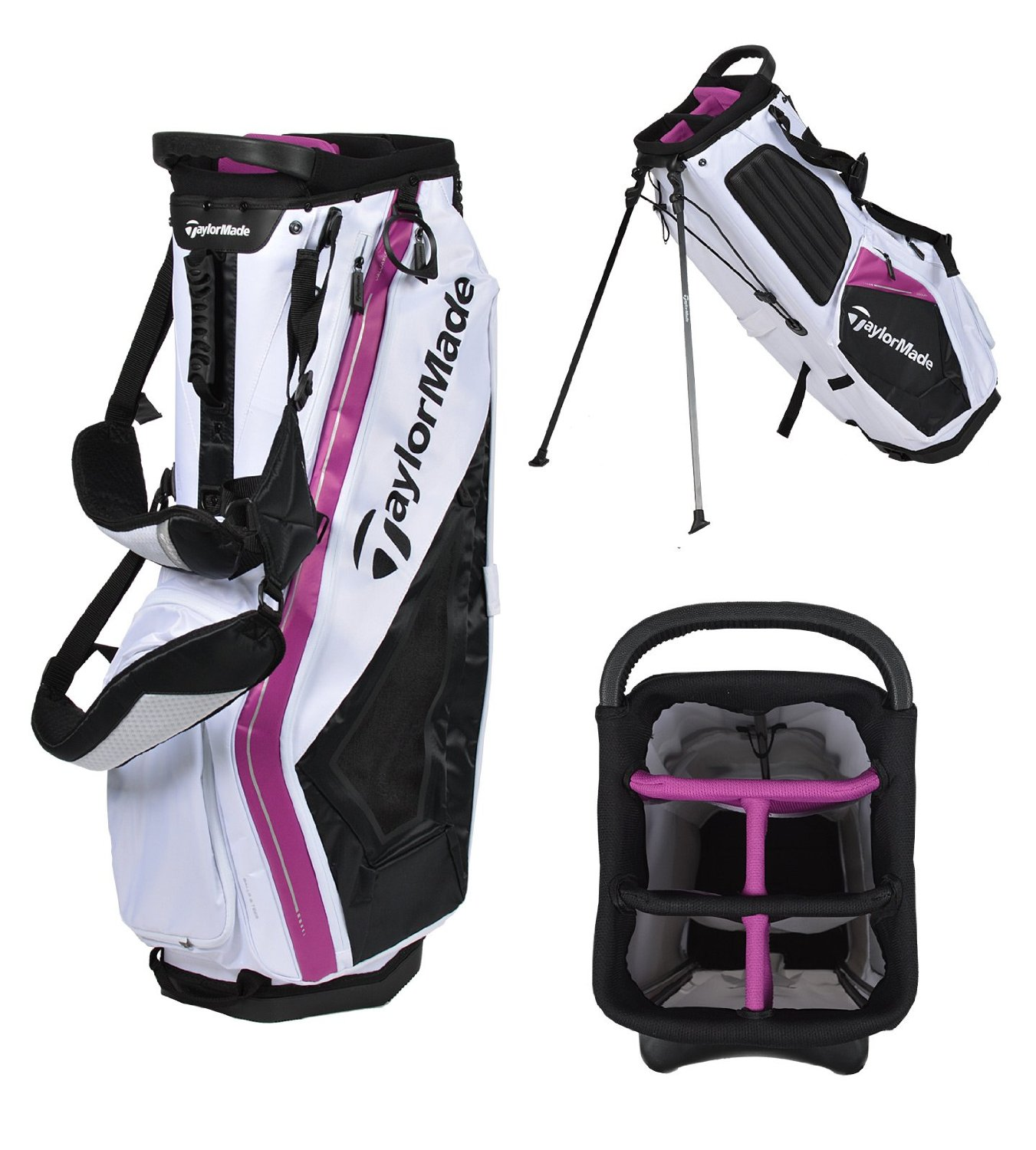 Mens Taylormade Purelite Golf Stand Bags