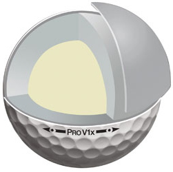 Four Piece Construction Golf Balls