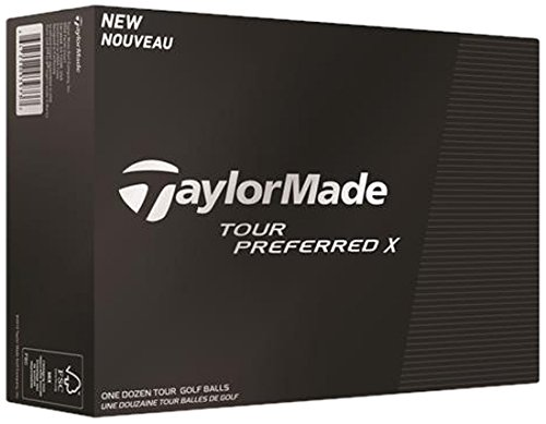 Mens Taylormade Tour Preferred X Golf Balls